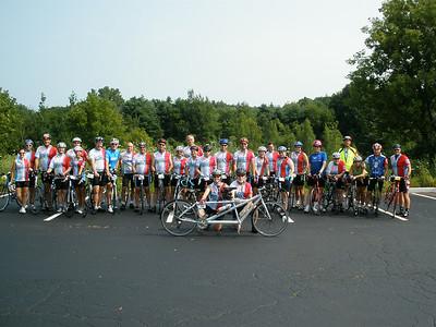 2014-07-26 Burlington Ride to Cure Diabetes - ON THE ROAD