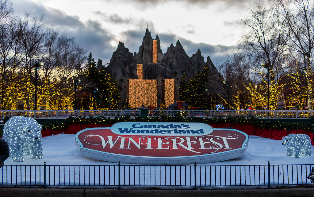 Canada's Wonderland WinterFest - Christmas in Toronto - Christmas events in Toronto