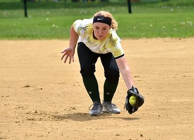 BBA Varsity Softball vs Arlington photos by Gary Baker