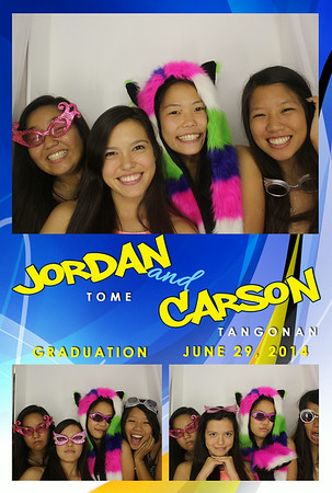 Jordan & Carson's Graduation (Luxury Photo Booth)