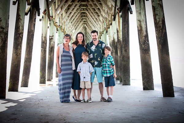 Eva Family Photography at Topsail Beach