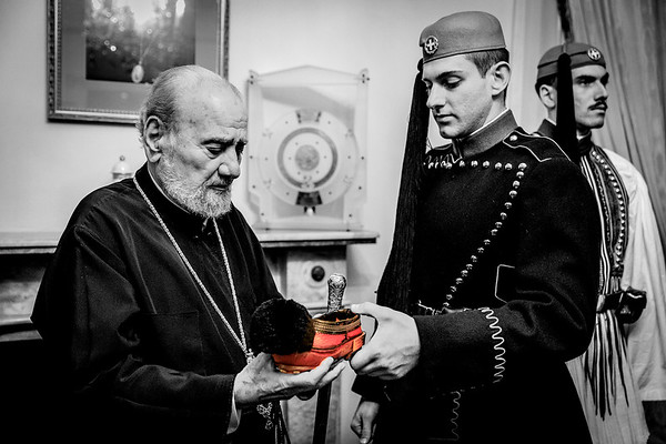 2018 Greek Presidential Guard at The Greek Orthodox Archdiocese Australia