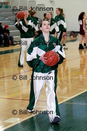 Girls JV Basketball Millis v Westwood 1_28_11