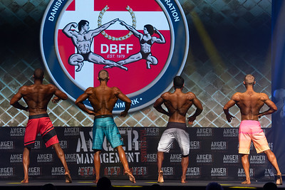 Mens Physique Senior Overall