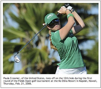 Paula Creamer wins 2008 Fields Open