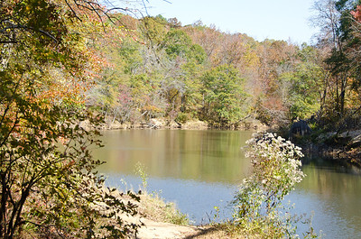 Sweetwater Creek When the Leaves are Turning