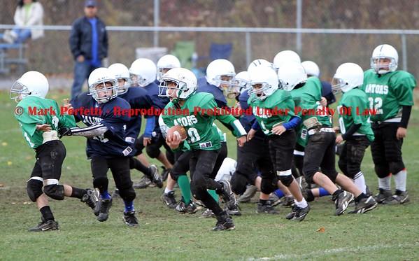 Green Gators vs Blue Falcons 10-25-2009