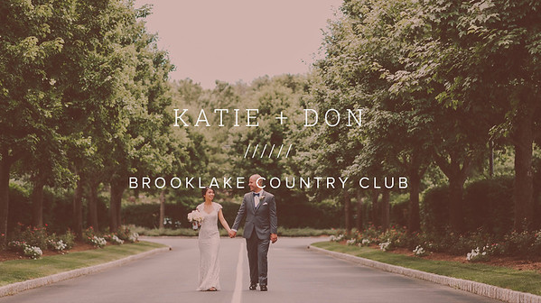 KATIE + DON ////// BROOKLAKE COUNTRY CLUB