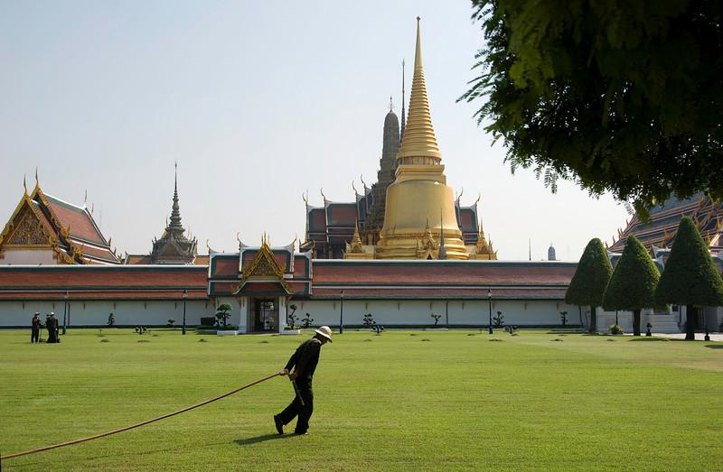 Royal Palace grounds