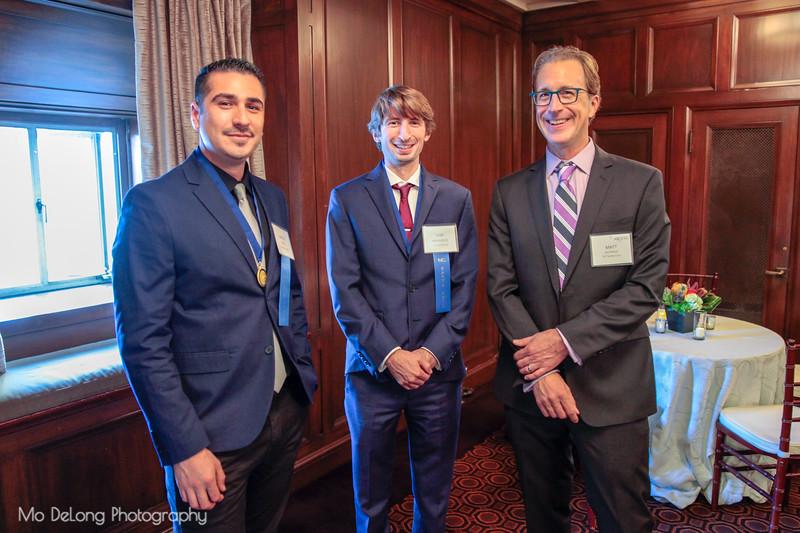 Miguel Pinto, Sam Mansfield and Matt Guthaus