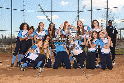 Skyline Softball Team Photos 2019
