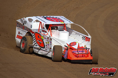 Super DIRT Week XLV (2016)-Time trial day for Big Block Modifieds and 358 Modifieds-Bill McGaffin-10/6/16