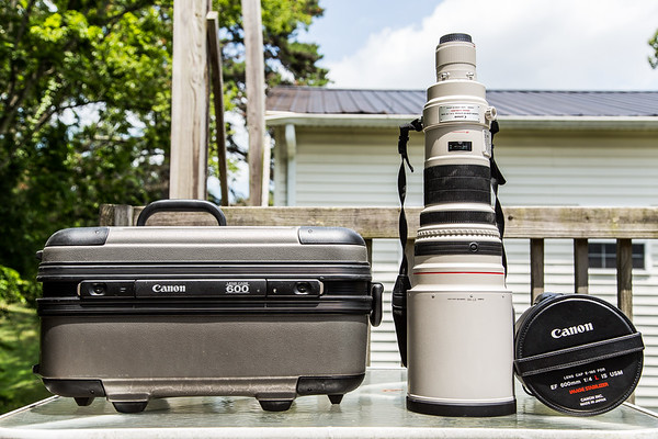 Canon Telephoto EF 600mm f/4.0L IS Image Stabilizer USM Lens