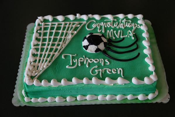 Typhoons green pizza party - 4Jun11
