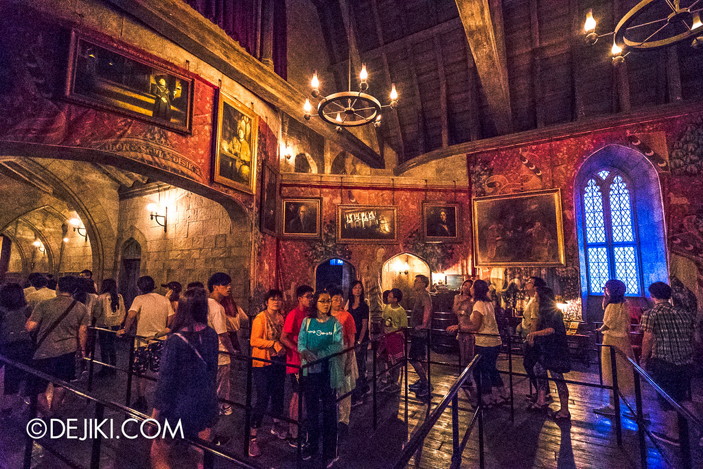 Universal Studios Japan - Harry Potter and the Forbidden Journey / Hogwarts Castle Walk Tour - Gryffindor Common Room