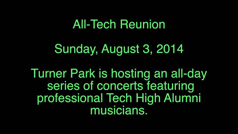 Tech - Sunday Concert