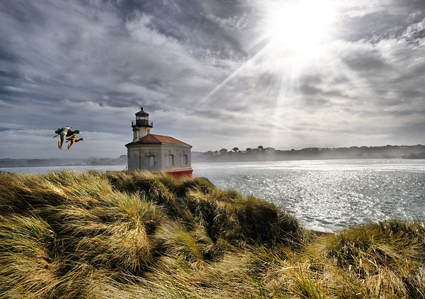 Light Houses- Oregon & Washington, By Lori