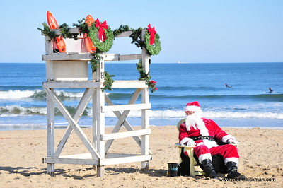 Santa on the Beach 2018