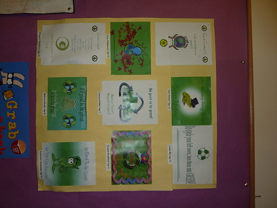 Green Team, Recycling Posters