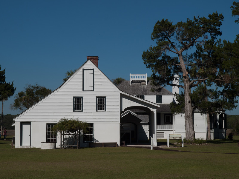Kingsley Plantation house