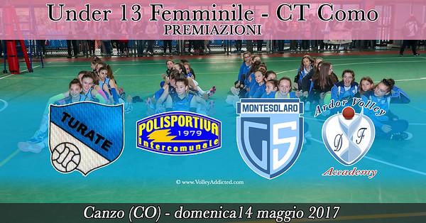 CO-u13f Campione Territoriale: Premiazioni