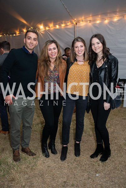 Nate Iarve, Michelle Booher, Meredith Rintoul, Sara Spain