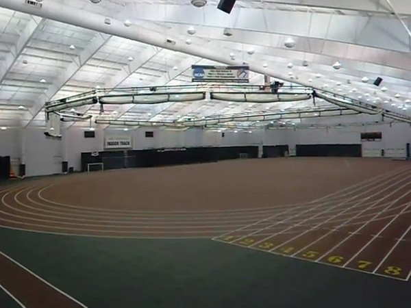 DePauw Indoor 200m Track
