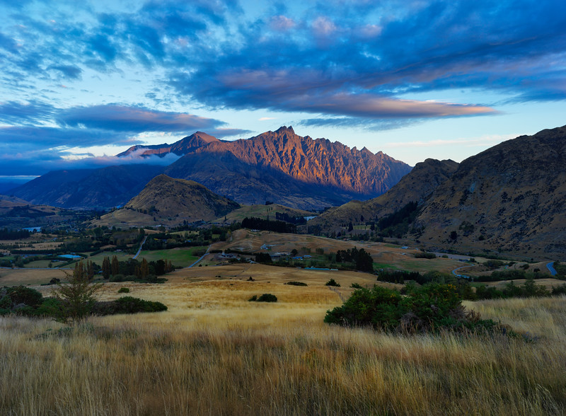 Evening Sun On The Remarkables