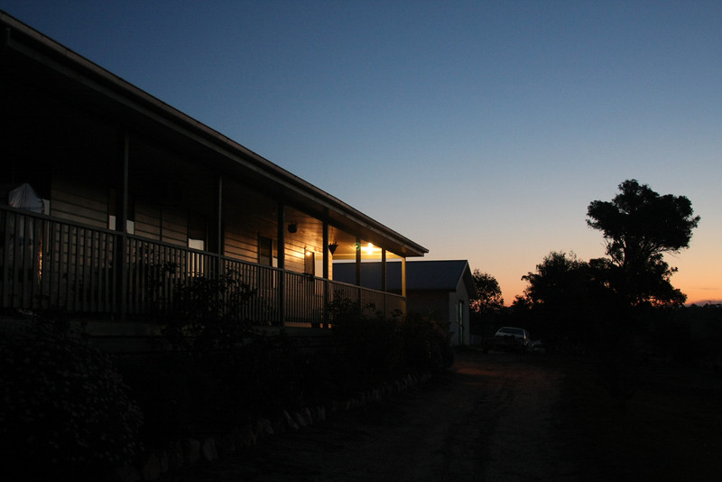 Trent and Marikki's stay at Vicky's place in Bairnsdale, Victoria. Photography by Trent Williams.