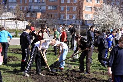 Vladikavkaz School 46 Clean up