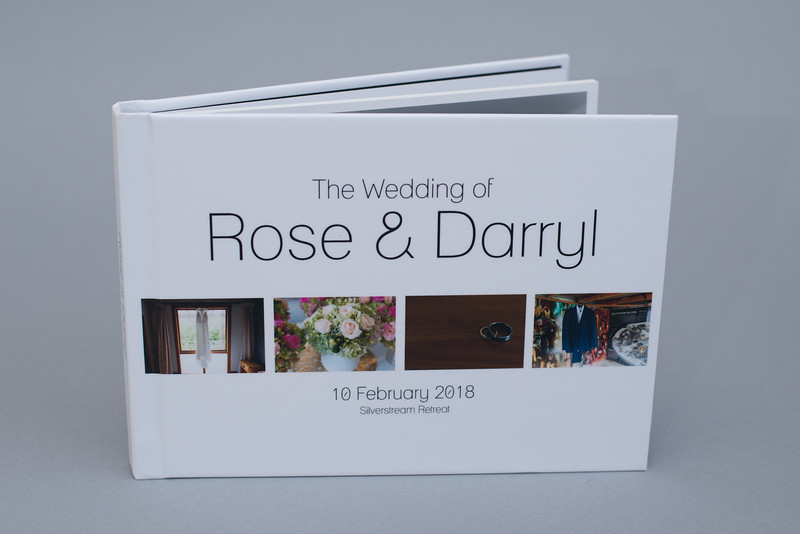 Hardcover Lay-Flat Wedding Album