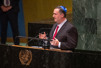 Minister Katz Speech at UNGA- Sep 26 2019