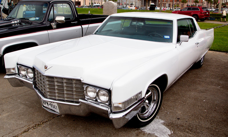 White Cadillac -- above my pay grade then ... and still so.