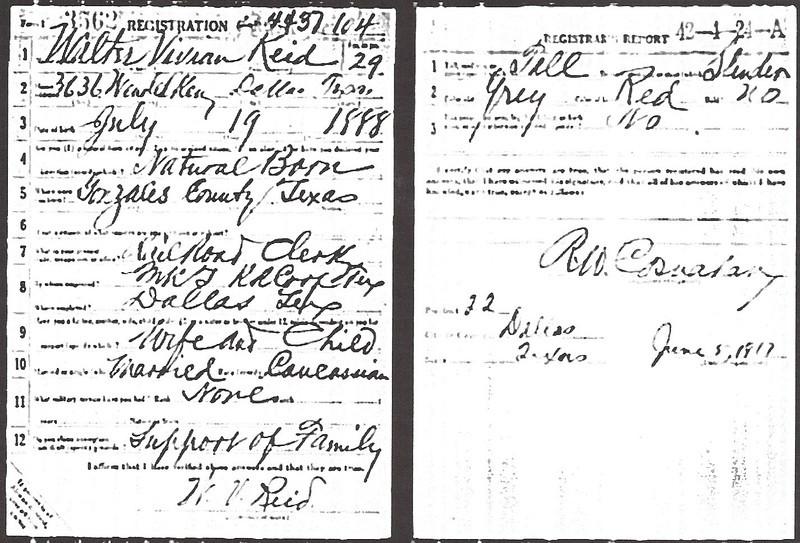 1917 draft registration - Walter Vivian Reid.jpg