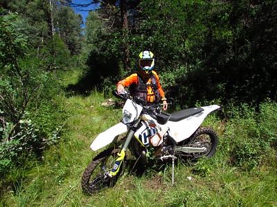 Jemez Mtns. - McMillan-Bales-San Pablo-Ojito Canyon Loop DS Ride  8-12-19