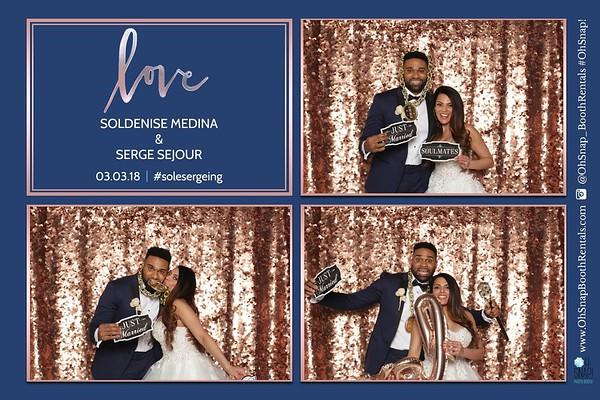 Soldenise & Serge Wedding