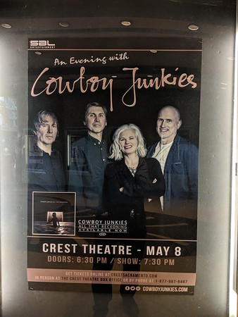Cowboy Junkies at Crest Theatre