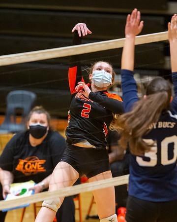 EHS Lady Warriors Volleyball vs KI