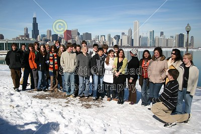 2008 GHS Orchestra in Chicago