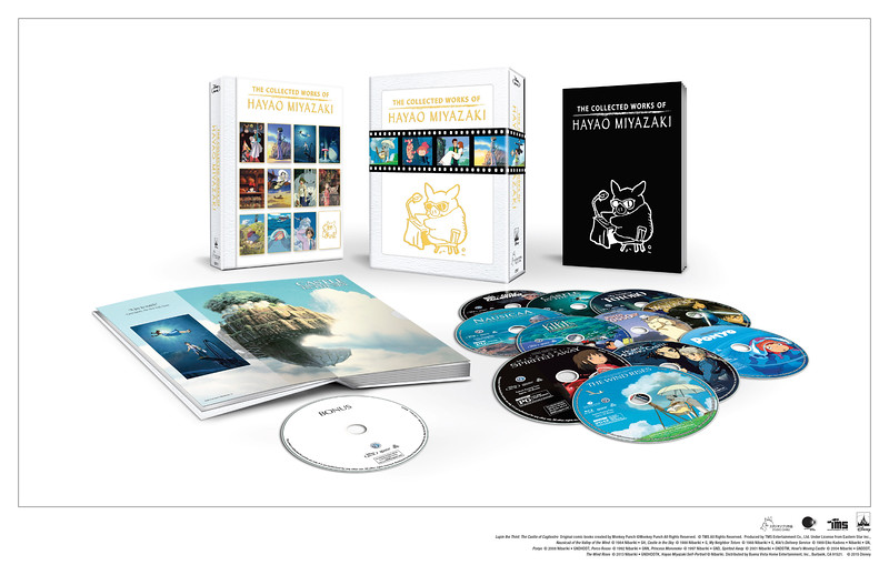 Miyazaki collected works coming to home market in first-ever 12-disc release