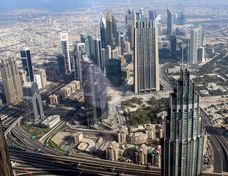 View from Burj Khalifa observation deck – Josef Rokus