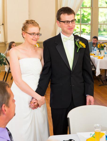 Bride and Groom visiting tables.jpg