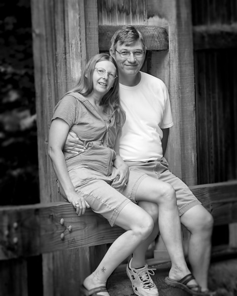 163 Michigan August 2013 - Dan & Janice crop b&w.jpg