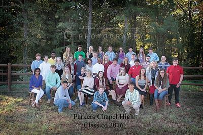 Parkers Chapel 2016 Graduates