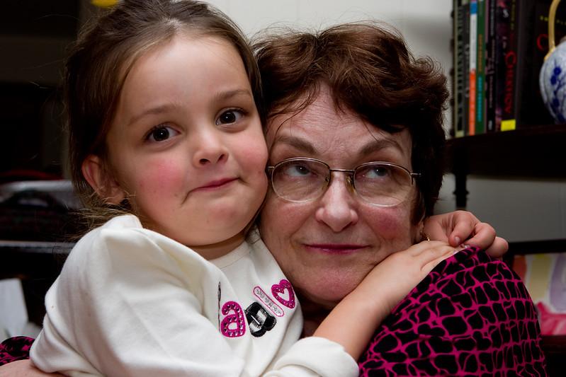Maeve and Grandmyra tableau