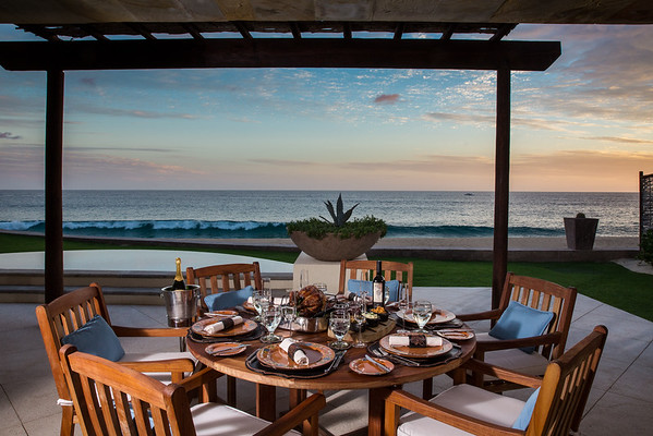 Resort at Pedregal - Thanksgiving in villa dinner