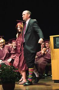 Traverse City High School graduation June 11, 2010