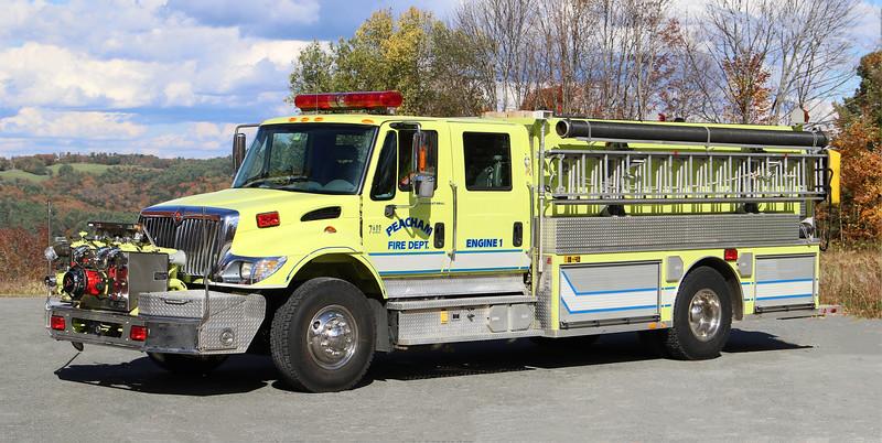Engine 1.  2003 International / Metalfab   1250 / 1250