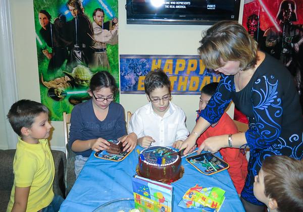 Alex Birthday celebration - January 18, 2014
