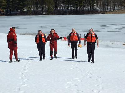Ice Rescue Training
